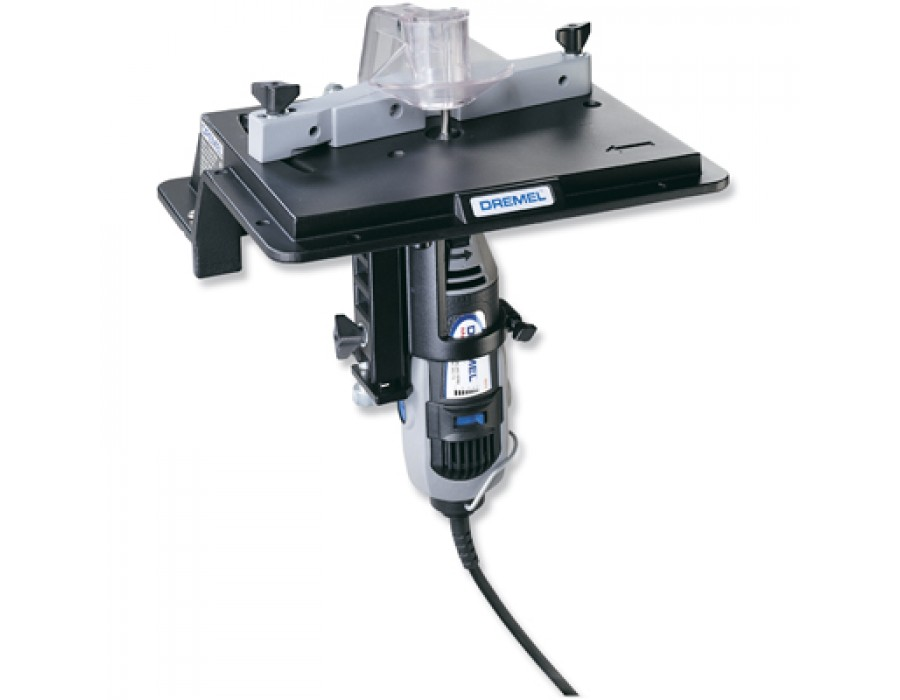 Dremel rotary tool shaper router table